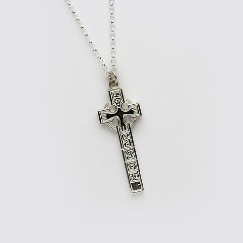 Ogham Moone High Cross Silver