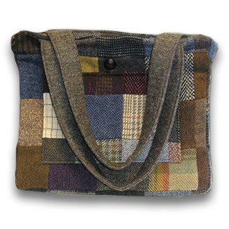 Patch Tweed Jessie Bag 1