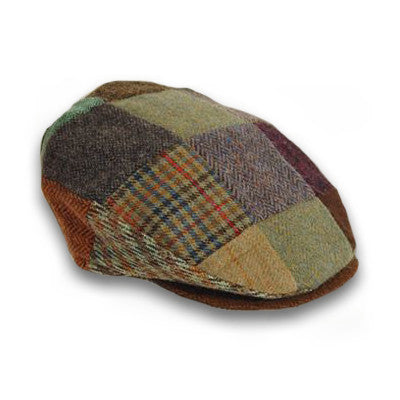 Patch Tweed Vintage Cap 77B1