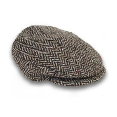 The Plain Tweed Vintage Cap by Hanna Hats