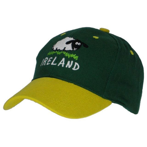 Kid's Ireland Sheep Baseball Cap