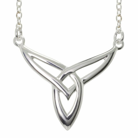 Trinity Knot Necklet in Sterling Silver