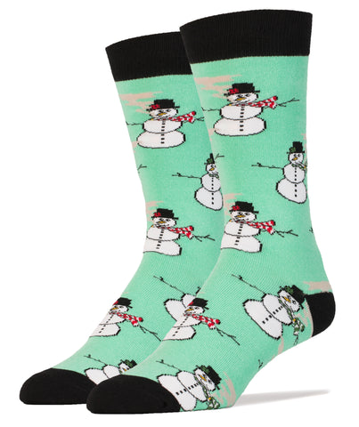 Rolling with the Snowmies - Oooh Yeah Socks