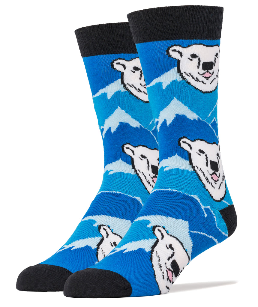 Polar Ice Caps - Oooh Yeah Socks