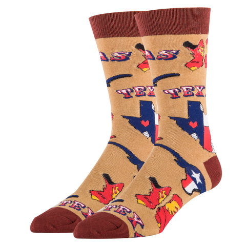 Texas Love - Oooh Yeah Socks