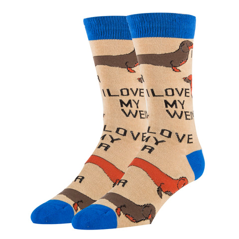 Love My Weiner - Oooh Yeah Socks