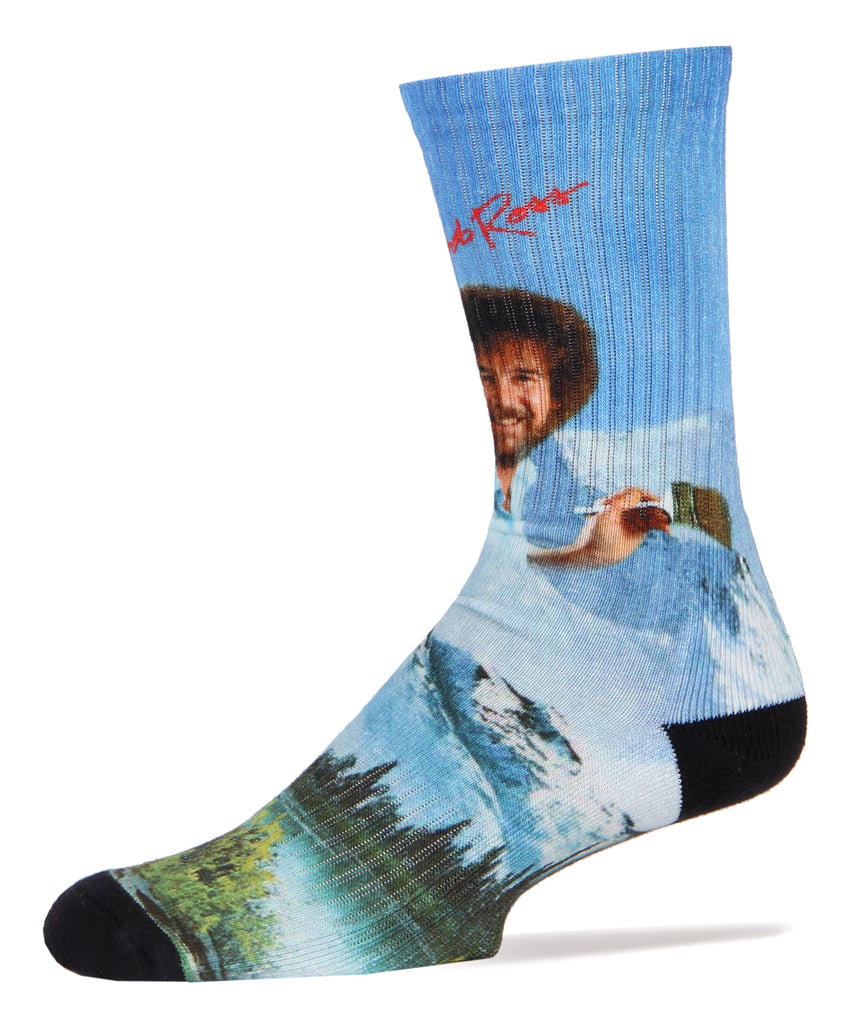 Bob Ross Basics - Oooh Yeah Socks