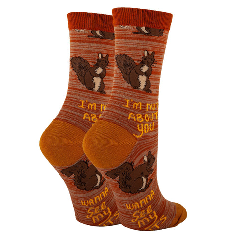 Nuts About U - Oooh Yeah Socks