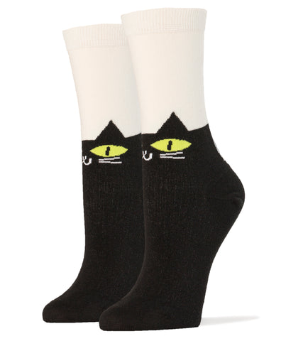 It's Meow Or Never - Women's - Oooh Yeah Socks