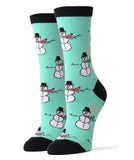 Rolling with the Snowmies - Women's - Oooh Yeah Socks