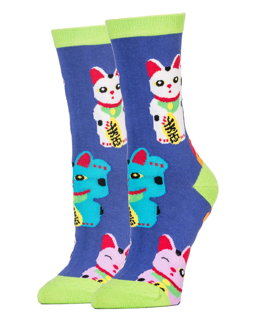 Good Luck Cat - Oooh Yeah Socks