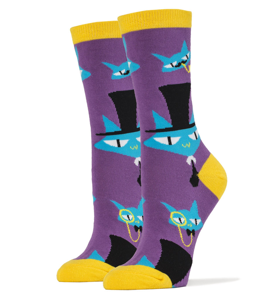 Le Fancy Cats - Women's - Oooh Yeah Socks