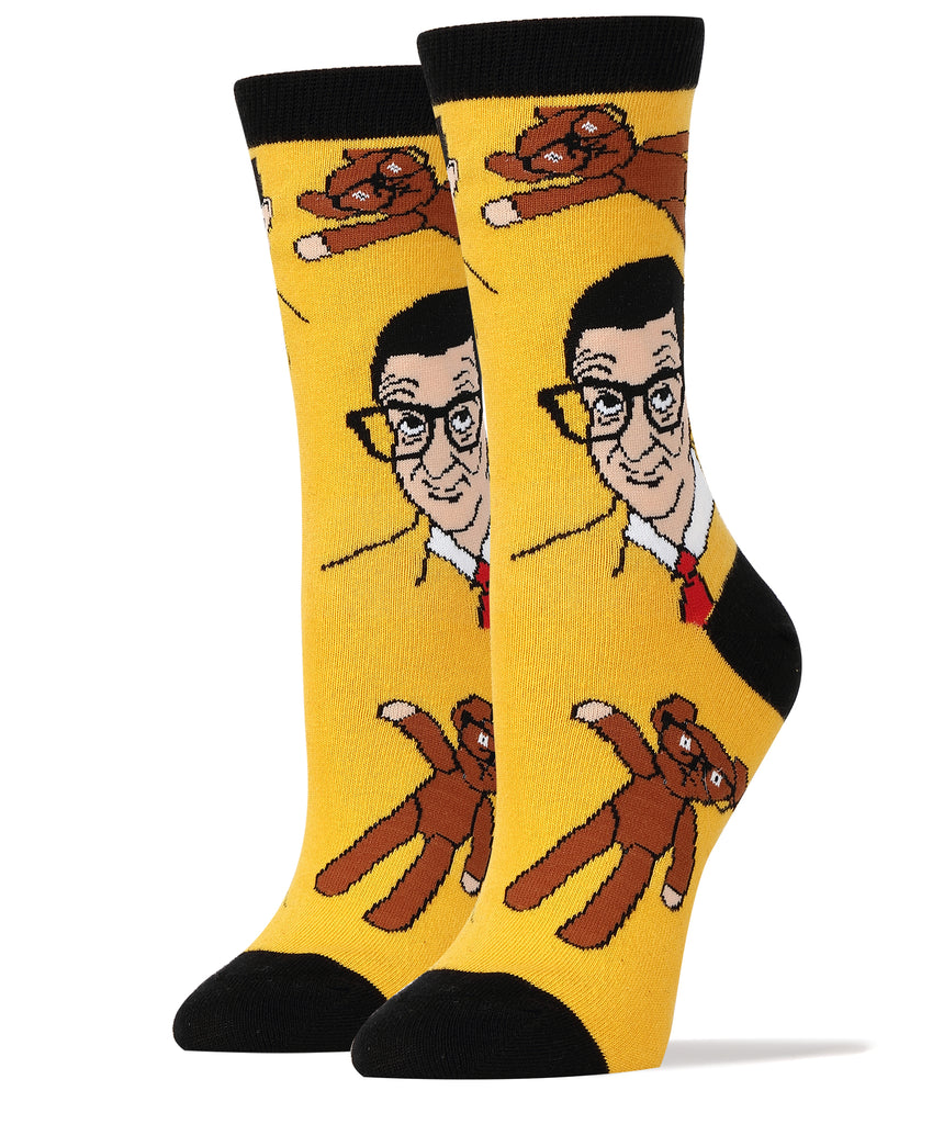 Mr Bean and Teddy - Oooh Yeah Socks
