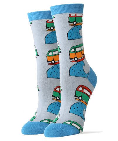 Surfing Van - Women's - Oooh Yeah Socks