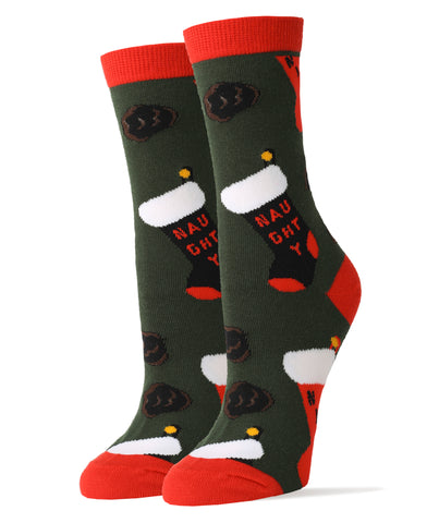 Naughty-Or-Nice - Women's - Oooh Yeah Socks
