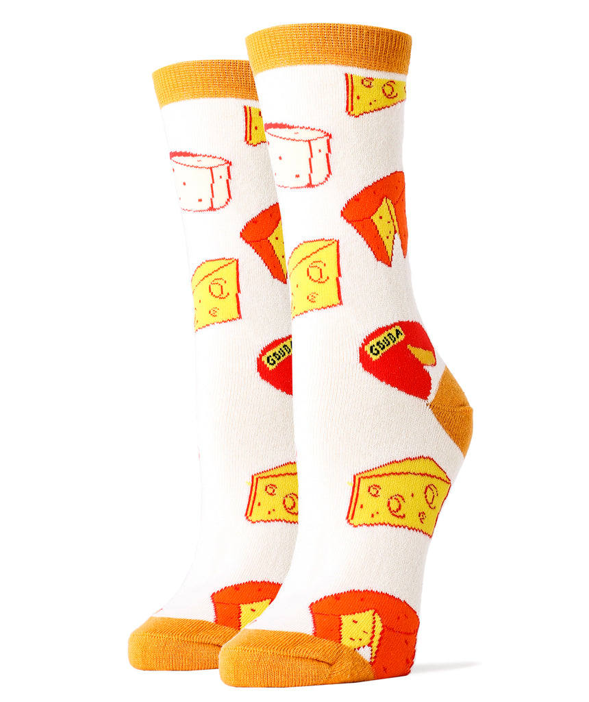 Make That Cheddar - Women's - Oooh Yeah Socks