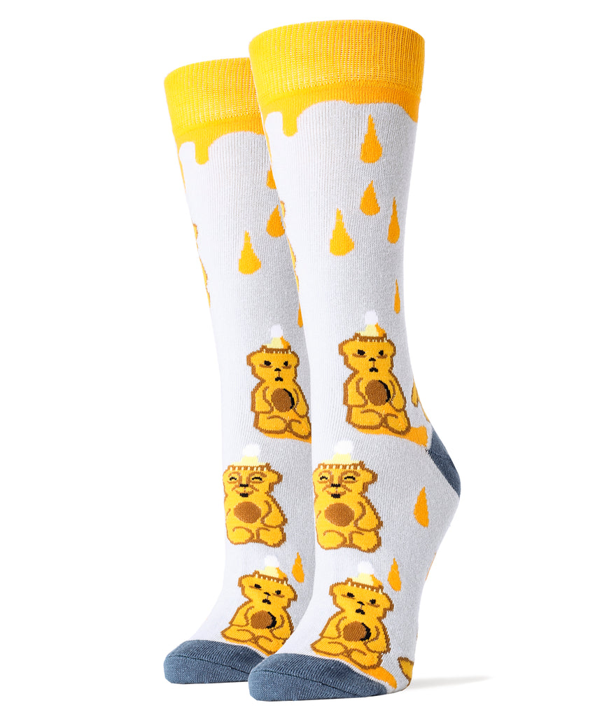 Honey Bear - Women's - Oooh Yeah Socks