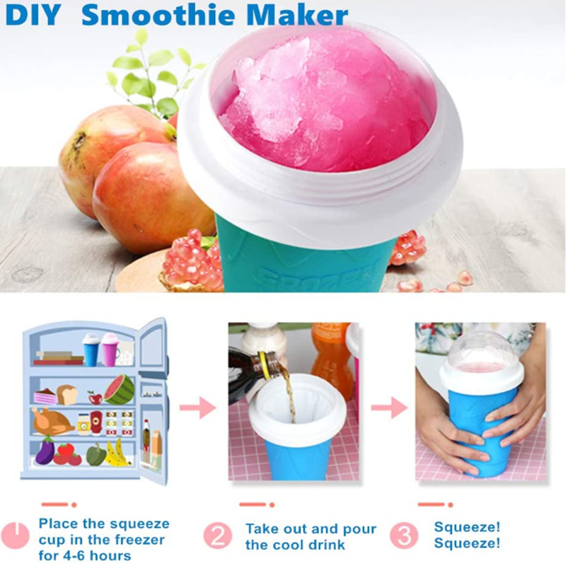 🍨 Quick-Frozen Smoothies Cup