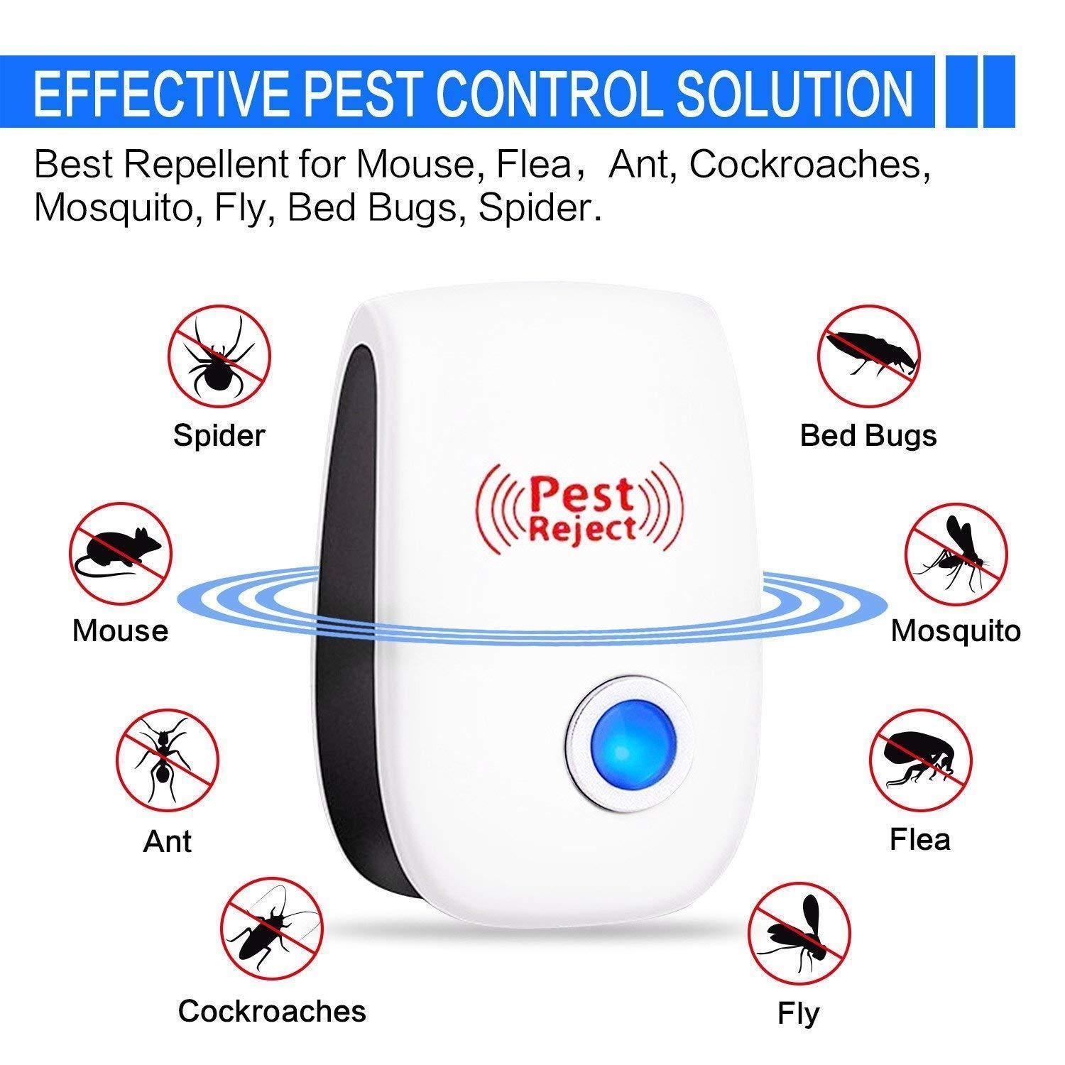 🔥 BUY MORE SAVE MORE🔥2020 Upgrated Ultrasonic Pest Repeller