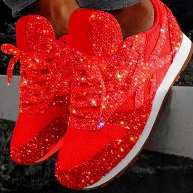 🔥2020 Women Bling Sneakers