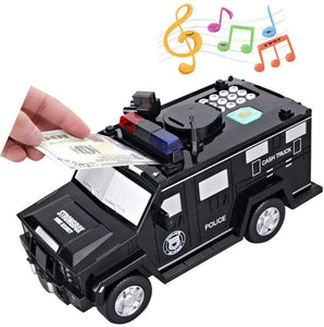 Electronic Money Bank Code Armored Hummer Car(Fits All Kinds Of Paper Money And Coins)