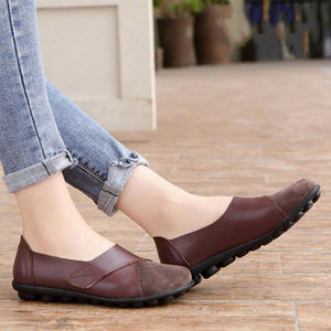 Plus Size Premium Orthopedic Leather Loafer