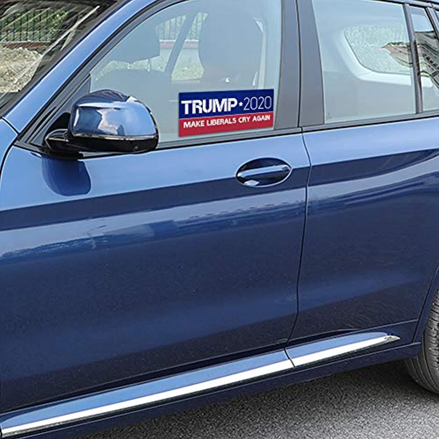 Trump bumper stickers for the presidential election-five different sticker designs-limited time offer (PVC stickers)