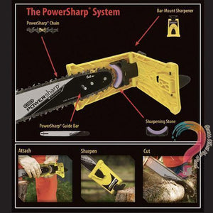 Chainsaw Teeth Sharpener - Last Day
