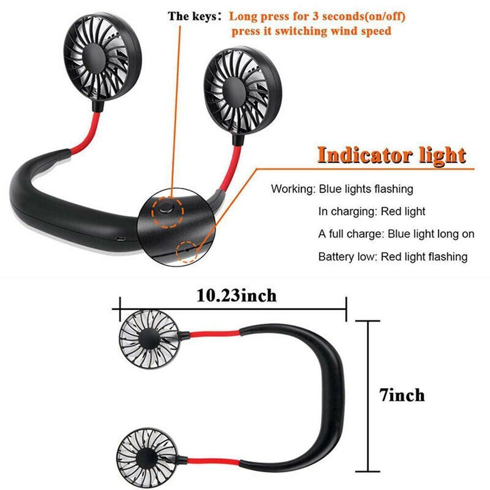 Portable Hanging Neck Sports Fan (Buy 3 Free Shipping)