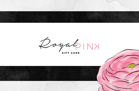 Royal Pink Gift Card