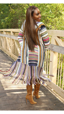Fall In Love Fringe Cardi | Outerwear