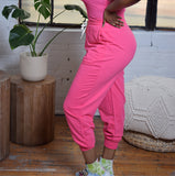 Daily Run Jogger | Pink Jogger Set