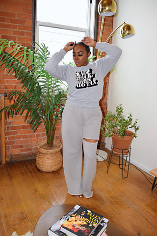 Simple Days Joggers | Wide Leg Joggers