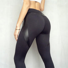 Load image into Gallery viewer, Black Heart Shape Booty Sport Pants