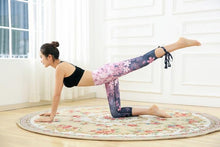 Load image into Gallery viewer, Women Fitness Leggings Flower