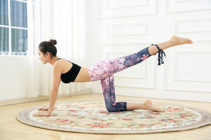 Women Fitness Leggings Flower