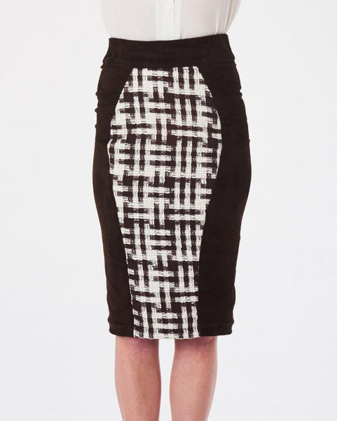 Pencil Skirt - Tweed