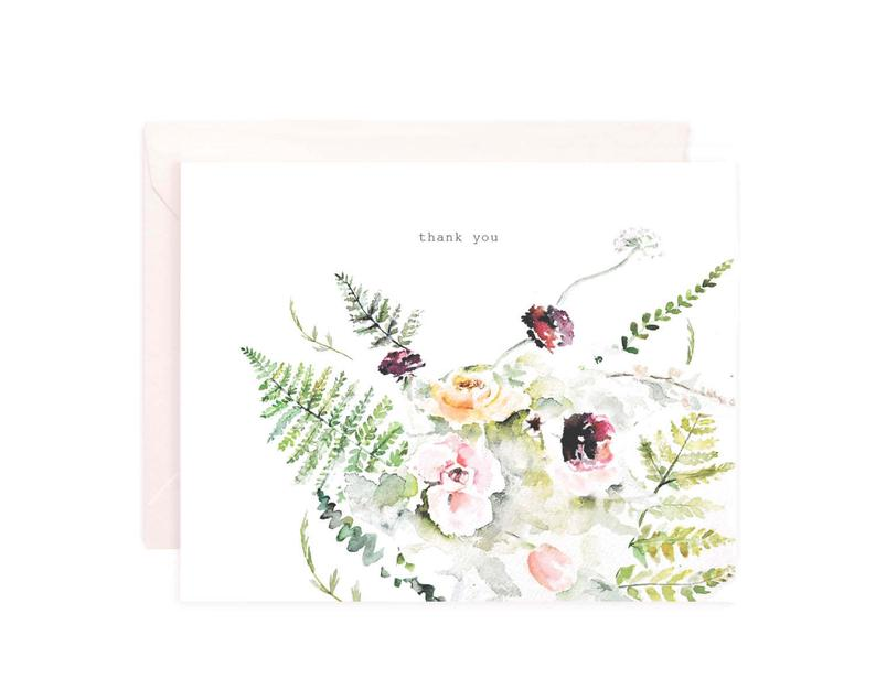 Thank Yous · Ferns + Florals