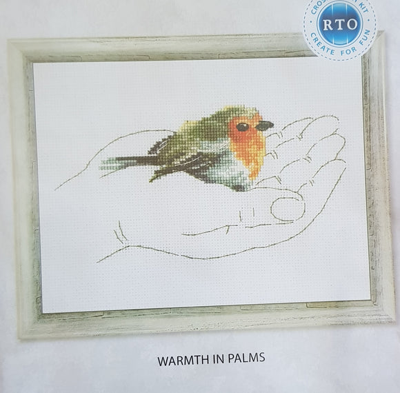 Warmth in Palms - Robin