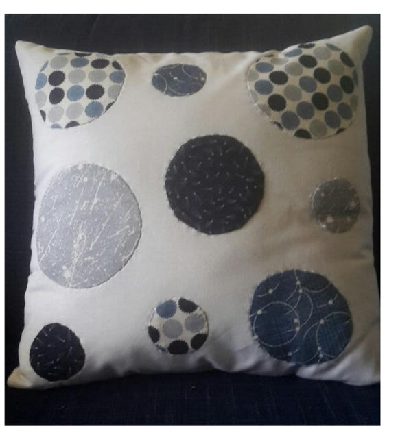 Simple circle cushion PDF pattern