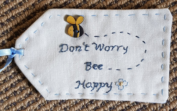 Bee happy gift tags