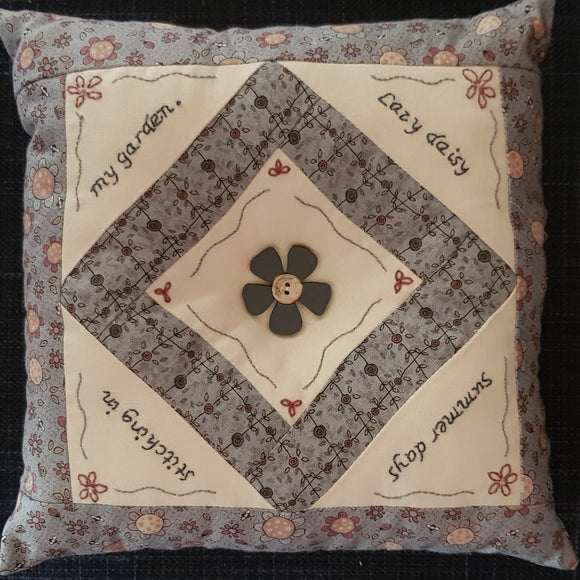 Lazy Daisy cushion