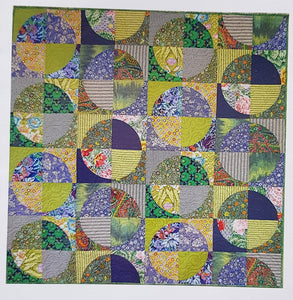 Lime and soda quilt pattern