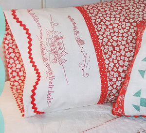 Night before Christmas Pillowcase.