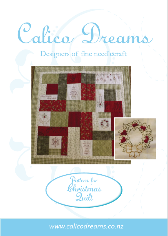 CALICO DESIGNS Christmas Wishes PDF Quilt Pattern