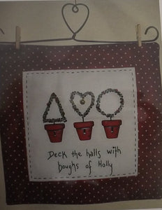 CALICO DESIGNS Deck the Halls Kit