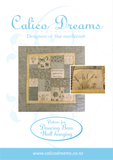 CALICO DESIGNS Dancing Bees Wall Hanging PDF Pattern