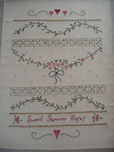 CALICO DESIGNS Sweet Summer Roses Sampler Kit
