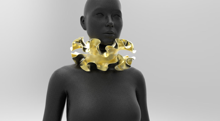 3D PRINTED JEWELRY DESIGN - GENERATIVE CONCEPT