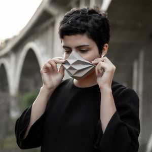 zMask - zimarty - wearable architecture 3d printed jewelry